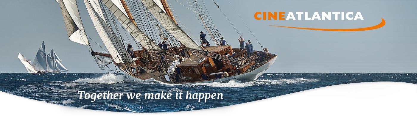 Cineatlantica header image yacht